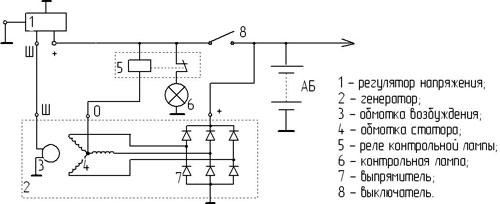 Рис.1. Схема подключения
