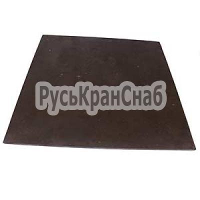 Пластина фрикционная 500х500х8